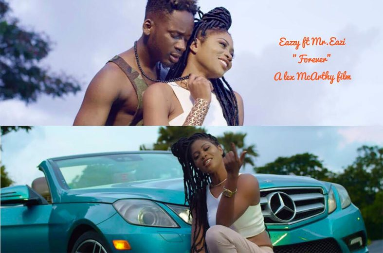 Love sparkles in Eazzy & Mr. Eazi 'Forever' music video
