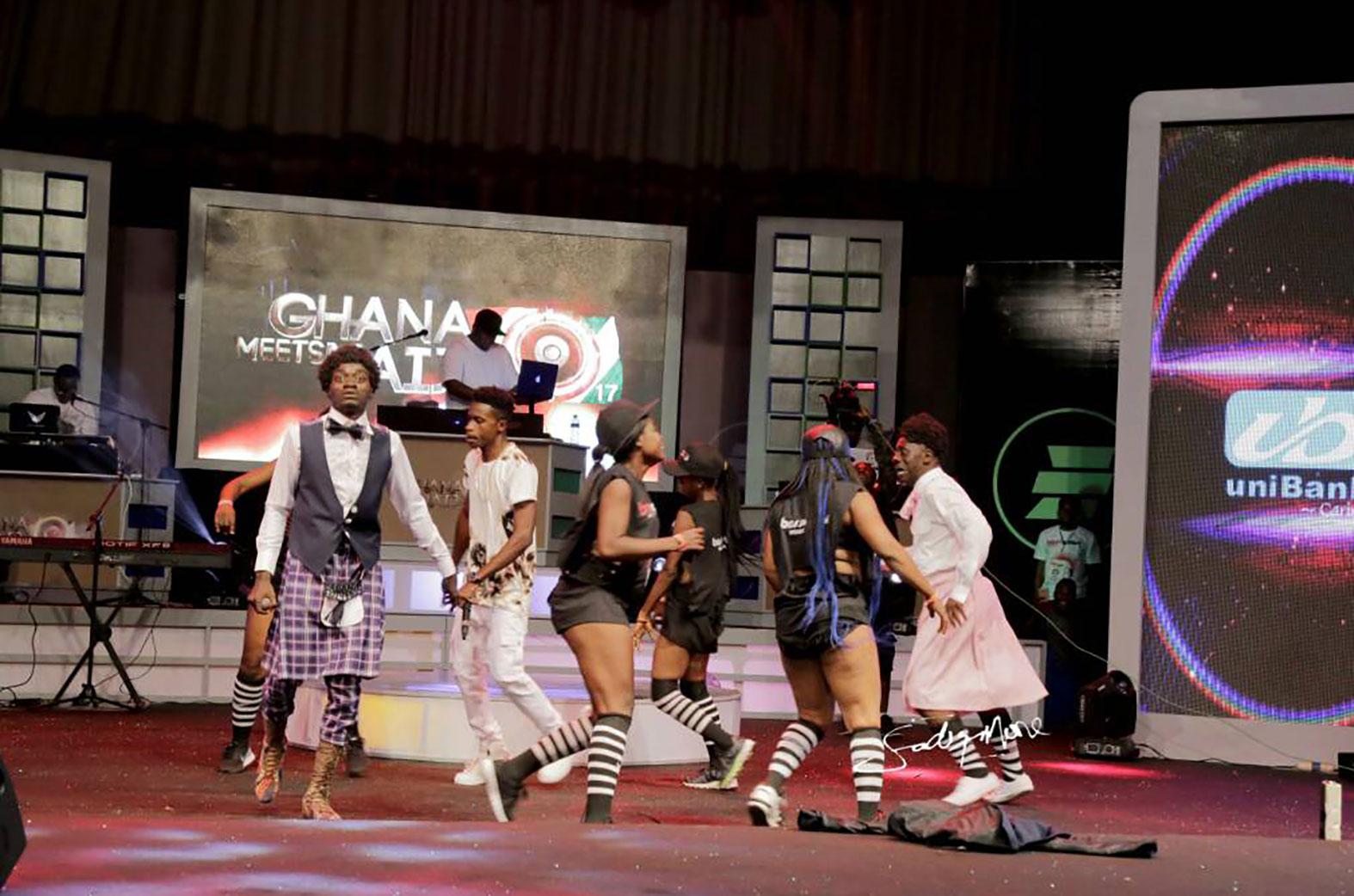 Lilwin performing at Ghana Meets Naija 2017