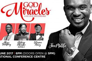 "Joe Mettle to record ""God of Miracles"" at concert"