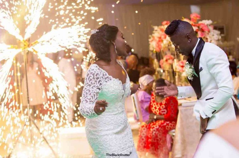 Stonebwoy marries sweetheart medical doctor