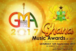 Ghana Music Awards UK 2017: Nominations announced