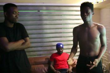 Video: Kwesi Arthur X R2Bees (Omar Sterling) freestyle
