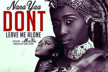 Audio: Don't Leave Me Alone by NanaYaa feat. MzVee