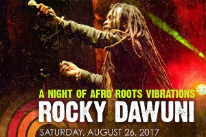 Afro Roots Vibrations with Rocky Dawuni at Levitt Pavilion Pasadena!
