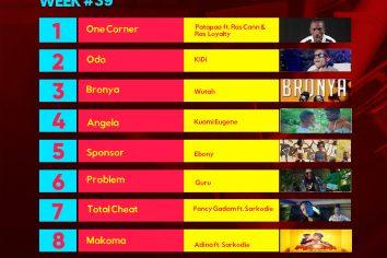 Week #39: Ghana Music Top 10 Countdown