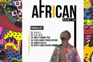 Quamina Mp clothes us with his African Print EP