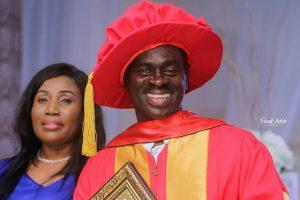 Yaw Sarpong honoured in Uganda