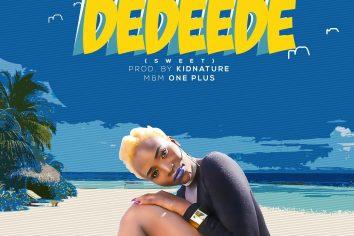 The sweetness has got Pauli B confessing on 'Dedeede'