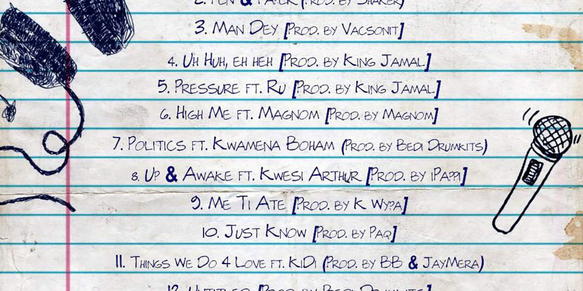 "Ko-Jo Cue Shaker finally drop ""Pen & Paper"" album"