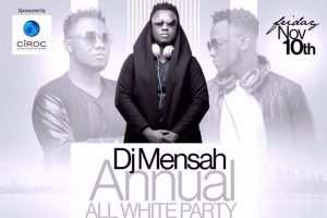 DJ Mensah's All White Party comes off November 10