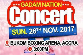 Fancy Gadam set for next Accra concert at the Bukom Boxing Arena
