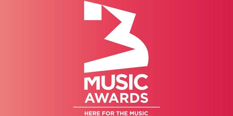 Full List of 3Music Awards' winners