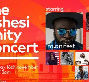 M.anifest to headline Ashesi Unity Concert