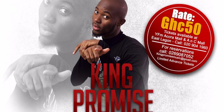 King Promise to hold live event in November