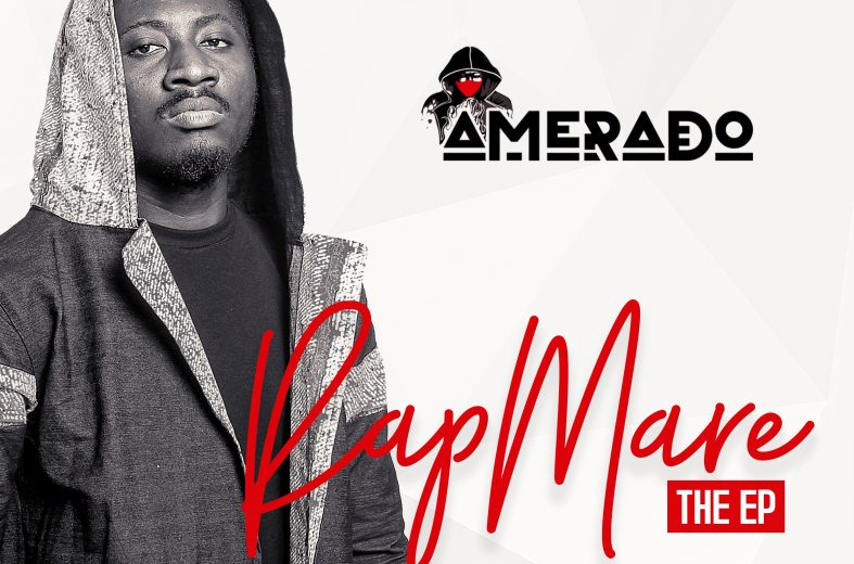 Amerado outdoors artwork and tracklist for debut work