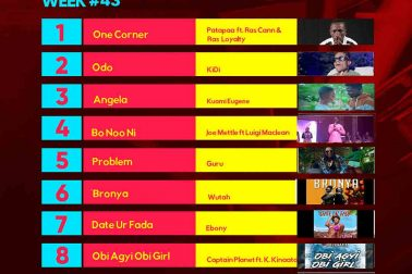 Week #43: Ghana Music Top 10 Countdown