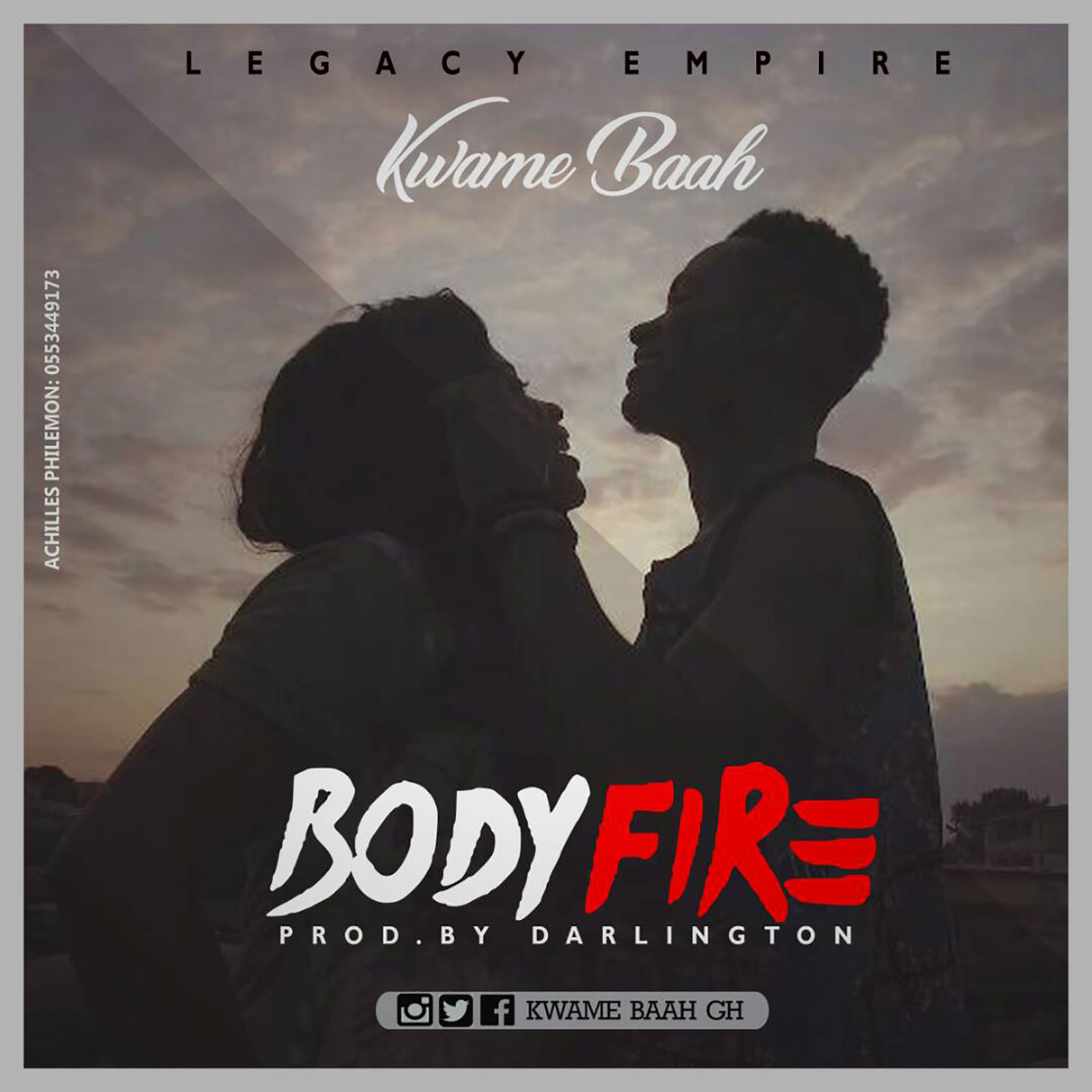 Body Fire by Kwame Baah