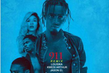 Audio: 911 remix by feat. Kwesi Arthur, Lousika & Jason El-A