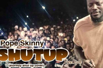 Audio: Shut Up (Stormzy Shutup Cover) by Pope Skinny