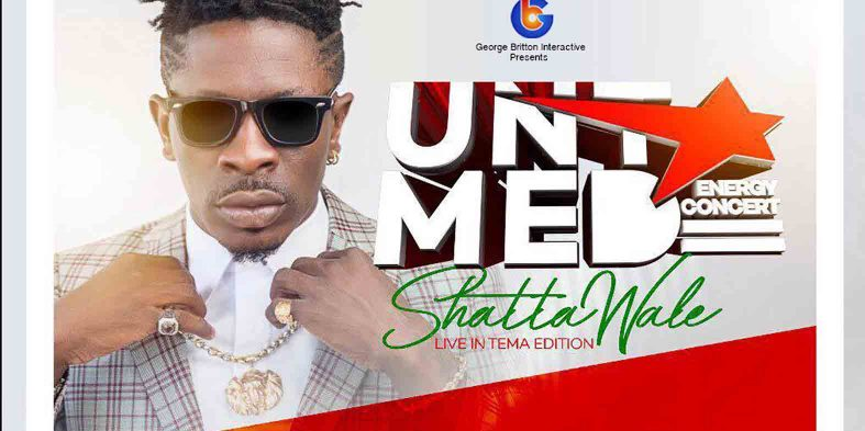 "Shatta Wale ""Untamed Energy concert"" to get new date"