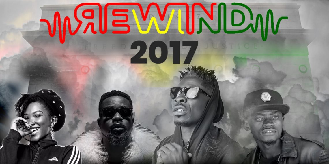 Shatta Wale 4 music videos listed in Top Trending Music Videos of 2017 on YouTube