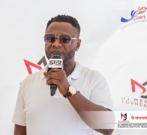 DJ Mensah launches foundation, health screens at Borstal Institute
