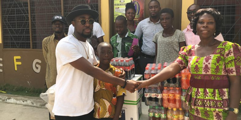 Teephlow donates to needy school, calls for more support