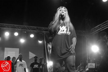 Video: Eno 'Disses' other male rappers at Untamed Concert