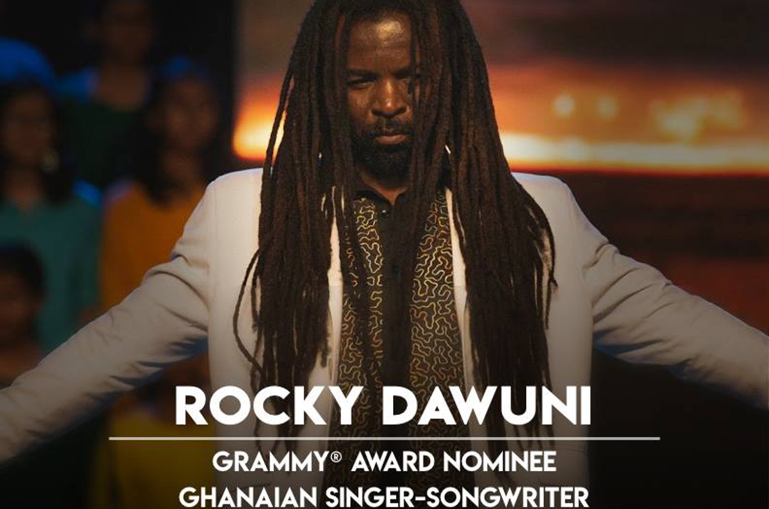 Rocky Dawuni to perform at the RoundGlass Music Awards