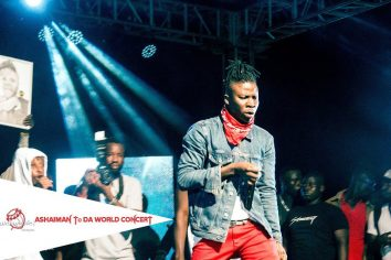 Video: Stonebwoy's performance at the Zylofon Ashaiman to the World Concert