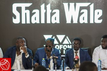 Video: Shatta Wale signs 3years with Zylofon Music record label