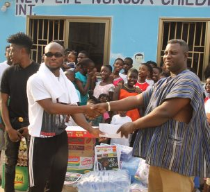 King Promise gets philanthropic on Val's Day
