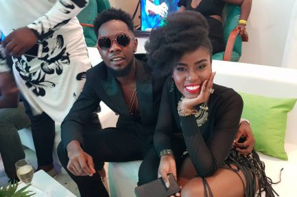 MzVee shows class at the inaugural NFF Awards in Nigeria