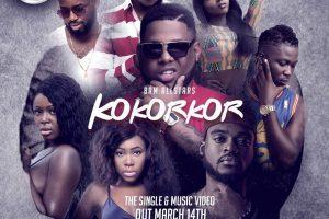 Audio: Kokorkor by BAM All Stars feat. D-Black, S3fa, Wisa, Freda Rhymz, Dahlin Gage, Kobla Jnr, Nina Ricchie & Osayo
