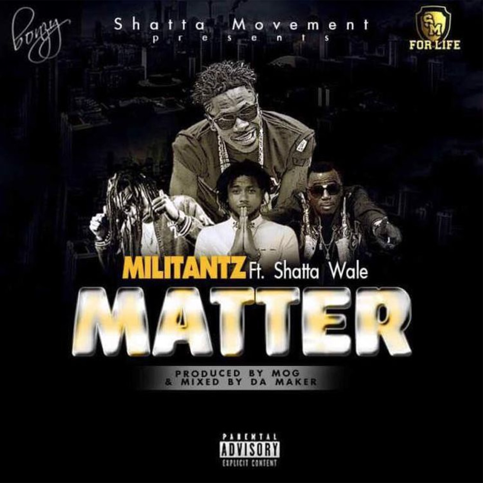 My Matter by Militantz feat. Shatta Wale