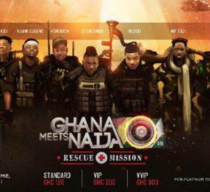 Tickets for 2018 Ghana Meets Naija selling hot
