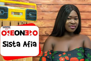1 on 1: My first song was a gospel song – Sista Afia