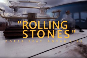 Video: Rolling Stones by Copta feat. Ansah Live