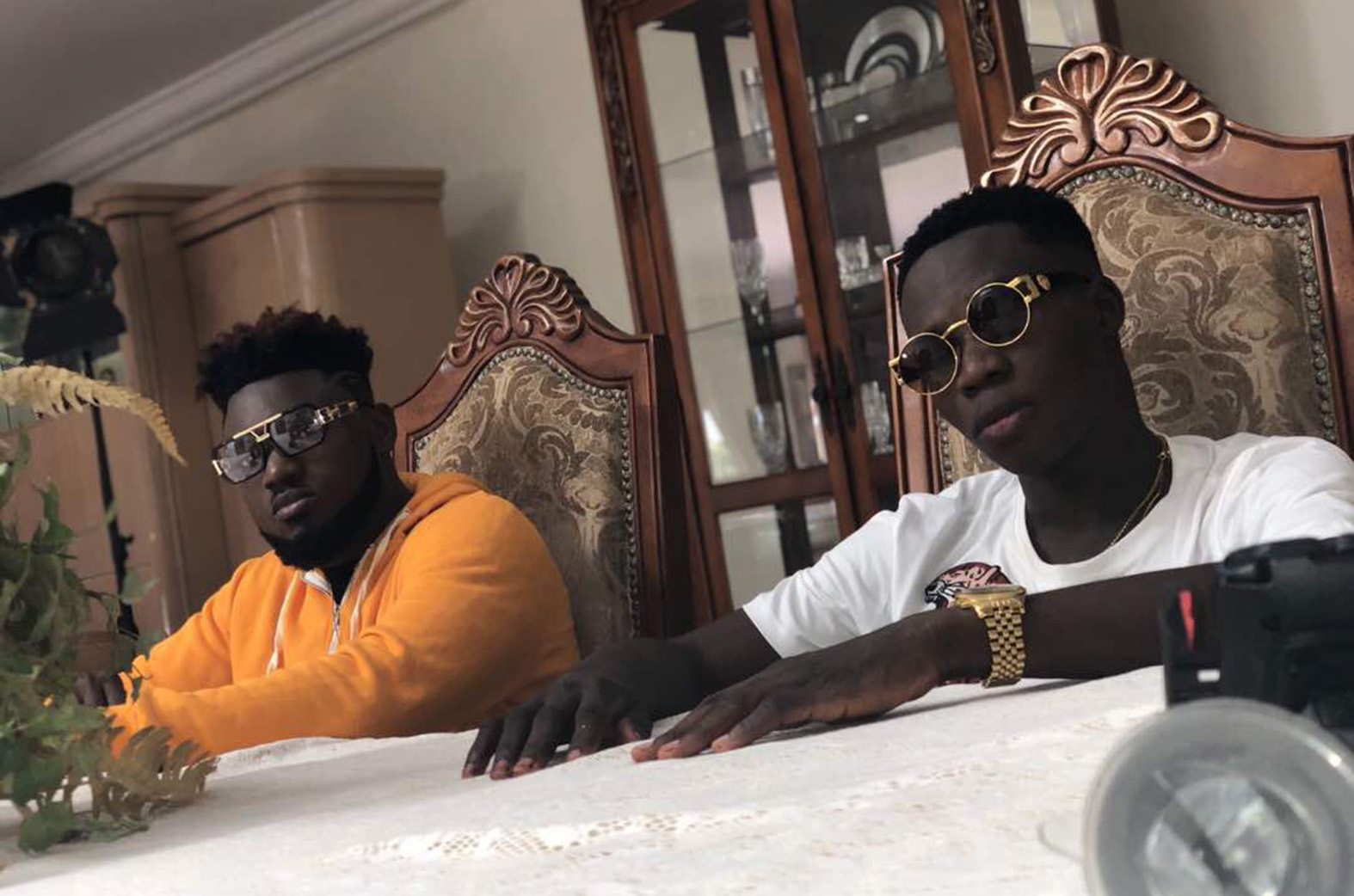 Celebrity Barber to drop first song featuring Donzy, DatBeatgod & Yebo