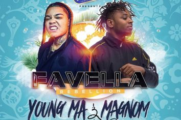 Magnom headlines Favella Rebellion Concert in Haiti