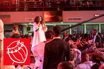 Video: Ohemaa Mercy & Juanita Bynum turned fans to worshippers
