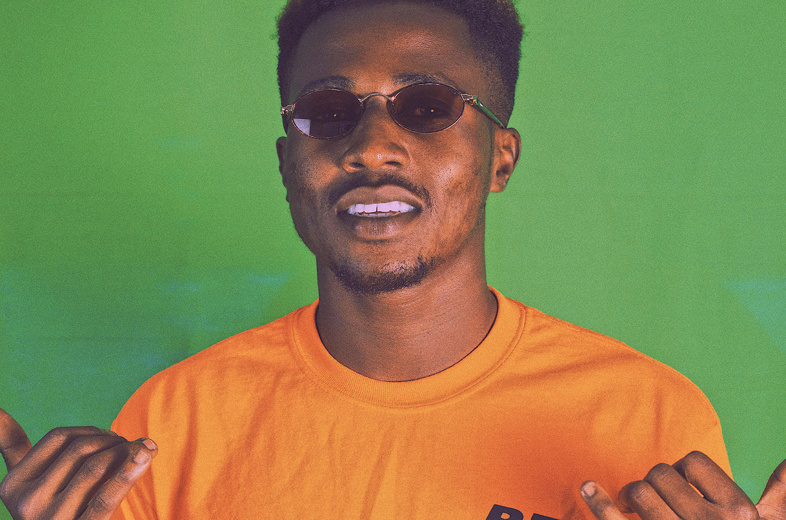 Meet Kelvin Black, a new artist from the Tema