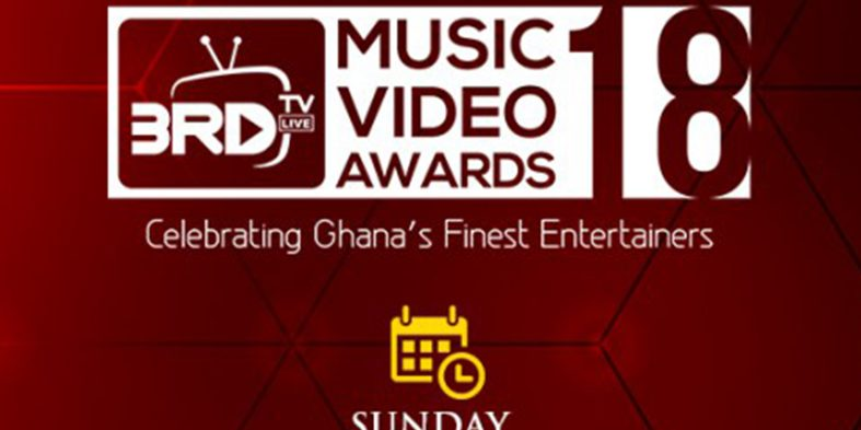 3RD TV Music Video Awards comes off on 29th September 2018