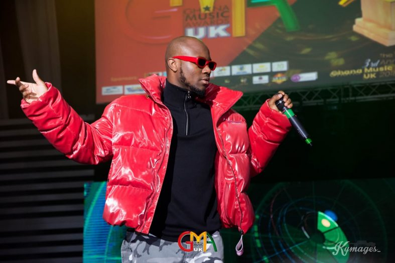 King Promise wins Best Male Vocalist at Ghana Music Awards UK 2018