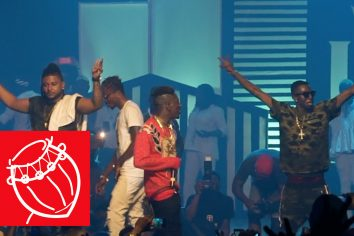 Video: Shatta Wale &  Millitants performed 'Forgeti' without Pope Skinny