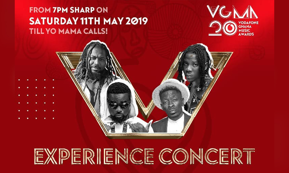 Akesse Brempong battles Shatta Wale, Samini, Stonebwoy at VGMA Experience concert