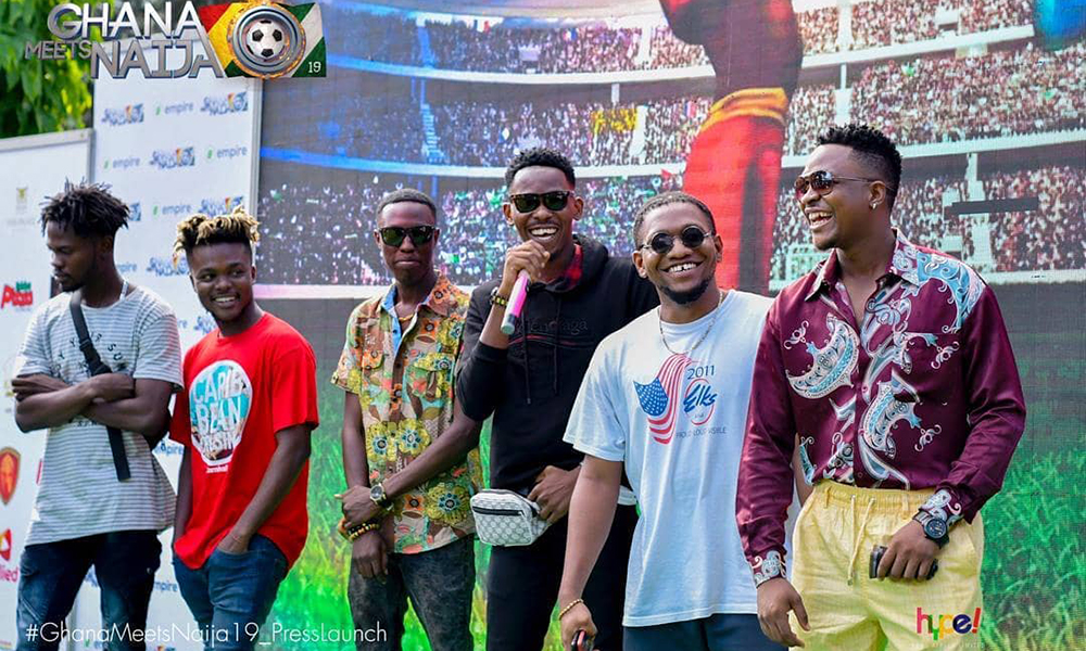 2019 Ghana meets Naija hires 'new lords' for June 8th event