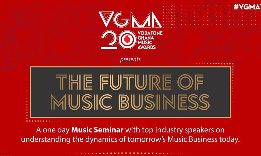 Global music business giants to converge at VGMA music seminar